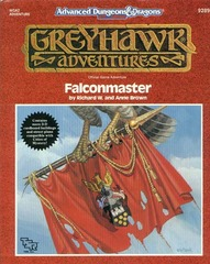 AD&D(2e) WGA2 - Falconmaster 9289
