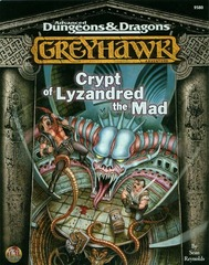 AD&D Greyhawk Adventures: Crypt of Lyzandred the Mad 9580