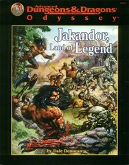 AD&D - Jakandor, Land of Legend 09472