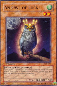 An Owl of Luck - PGD-073 - Common - 1st Edition