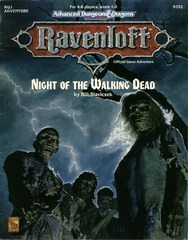 Ravenloft RQ1 - Night of the Walking Dead 9352