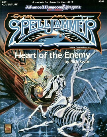 AD&D(2e) Spelljammer - Heart of the Enemy 9347