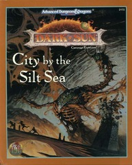 AD&D 2E Dark Sun City by the Silt Sea Box Set 2432
