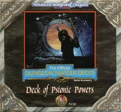 Deck of Psionic Powers