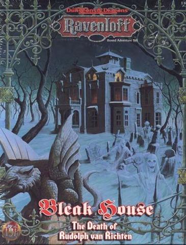 Ravenloft - Bleak House The Death of Rudolph van Richten 1141 Box Set