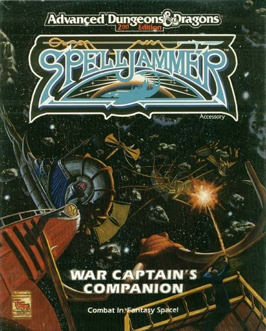 AD&D Spelljammer - War Captain's Companion 1072