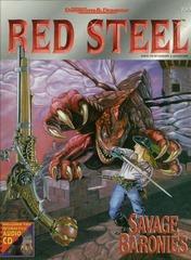 AD&D Red Steel Savage Baronies w/ CD