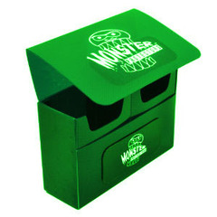Green Double Matte Deck Box (Monster)