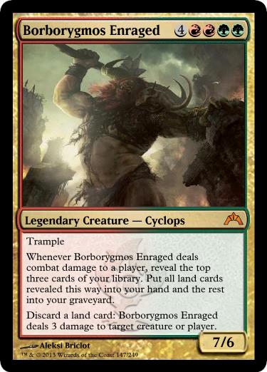 Borborygmos Enraged
