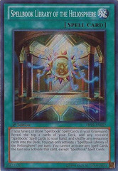 Spellbook Library of the Heliosphere - ABYR-EN087 - Secret Rare - Unlimited Edition