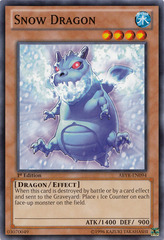 Snow Dragon - ABYR-EN094 - Common - Unlimited Edition
