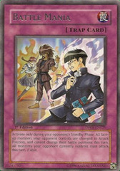 Battle Mania - DP08-EN025 - Rare - 1st Edition