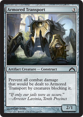 Armored Transport on Channel Fireball