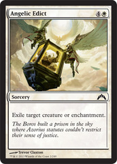 Angelic Edict - Foil on Channel Fireball
