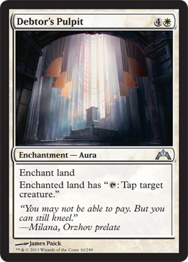 Debtors Pulpit - Foil