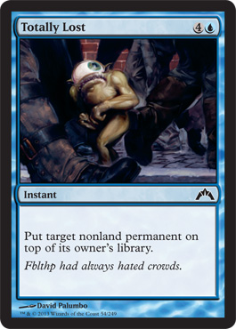 Totally Lost - Foil
