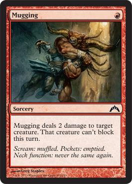 Mugging - Foil