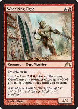 Wrecking Ogre - Foil