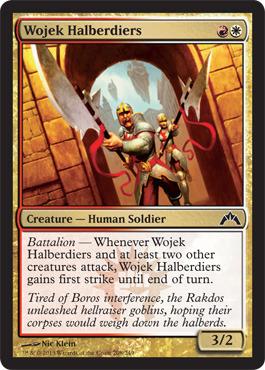 Wojek Halberdiers - Foil