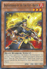 Brotherhood of the Fire Fist - Raven - CBLZ-EN022 - Common - 1st Edition