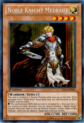 Noble Knight Medraut - CBLZ-EN081 - Secret Rare - 1st Edition