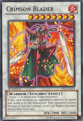 Crimson Blader - CBLZ-EN093 - Rare - 1st Edition on Channel Fireball