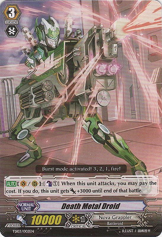 Death Metal Droid - TD03/002EN - TD