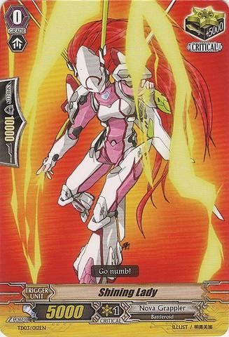 Shining Lady - TD03/012EN