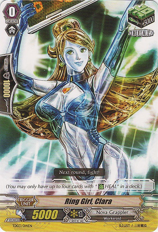 Ring Girl, Clara - TD03/014EN - TD