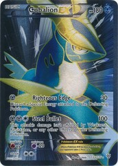 Cobalion-EX - 133/135 - Full Art Ultra Rare on Channel Fireball