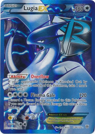 Lugia-EX - 134/135 - Full Art Ultra Rare
