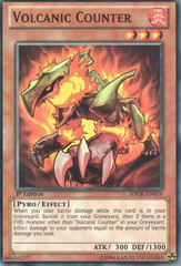 Volcanic Counter - SDOK-EN014 - Common - 1st Edition