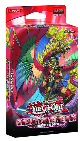 Yu-Gi-Oh Structure Deck: Onslaught of the Fire Kings