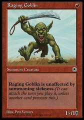 Raging Goblin (Reminder Text Only)