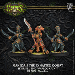 Makeda & The Exalted Court - Epic Warlock Unit