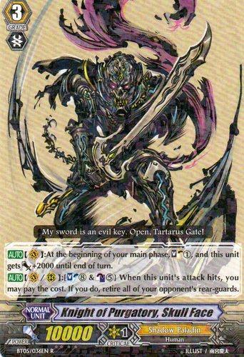 Knight of Purgatory, Skullface - BT05/036EN - R