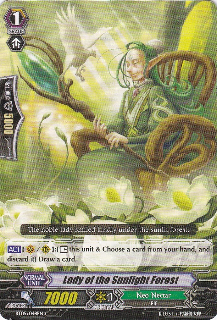 Lady of the Sunlight Forest - BT05/048EN - C