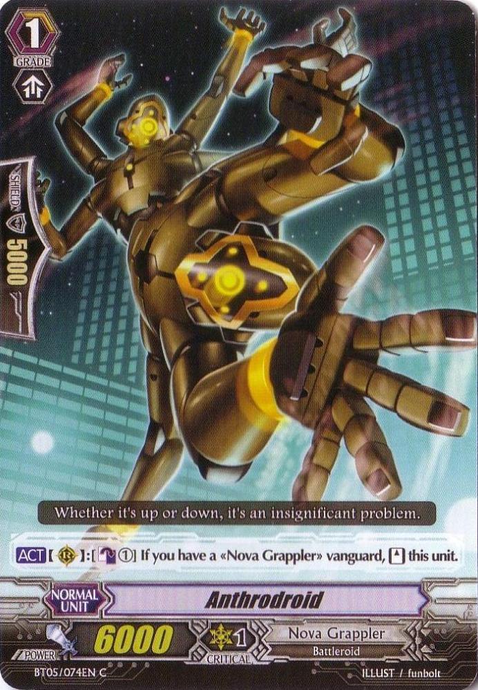 Anthrodroid - BT05/074EN - C