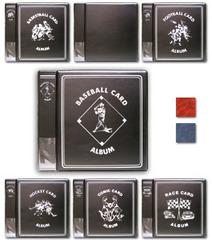 2 Inch Album - Baseball - Black