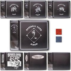 3 Inch Album - Baseball - Red