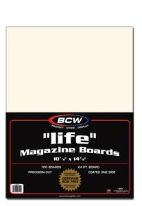 Life Magazine Backing Boards