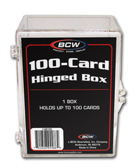 BCW Hinged Box - 100 Count
