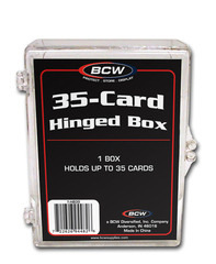 BCW Hinged Box - 35 Count