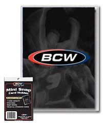 BCW Mini Snap Card Holder