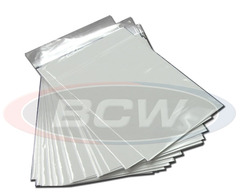 BCW Silver RESEALABLE Bags & Boards - Pack of 50