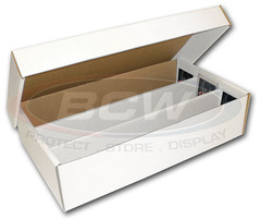 BCW Super Shoe Box (3000 Ct.) 3-Row