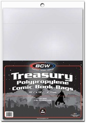 BCW Treasury Bags - Pack of 100