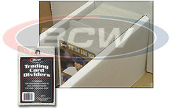 BCW Trading Card Dividers - Pack of 10