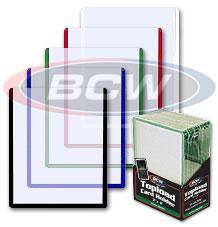 3 X 4 Topload Card Holder - Black Border