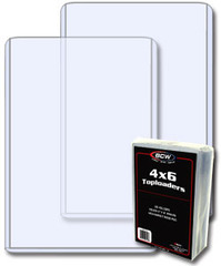 4 X 6 - Topload Holder - Pack of 25